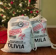santa sacks creating personalized santa sacks with screen printed transfers