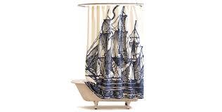 Sailboat Shower Curtains Elizabethan Sails Shower Curtain 148 Www Anthropologie