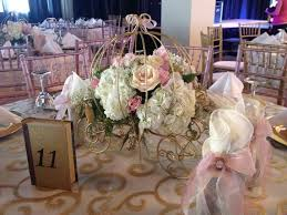 cinderella themed centerpieces cinderella wire carriages princess carriages