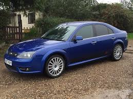 2007 07 plate ford mondeo st tdci in metallic blue 2 2 diesel with