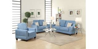 f7912 breeze microsuede 3 pieces sofa loveseat chair set