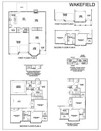 Dsld Homes Floor Plans by Floor Plans Wakefield Lexington Real Estate