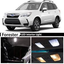 2016 subaru forester interior 8x white interior led lights package kit for 2015 2017 subaru