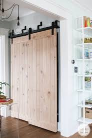 Sliding Closet Doors Wood Minimalist Living Room Design With Barn Style Sliding