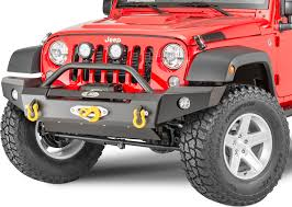 jeep rubicon winch bumper lod offroad signature series full width front winch bumper with