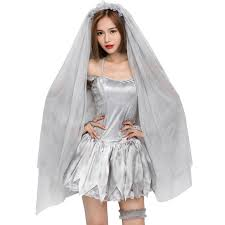 Bride Chucky Halloween Costumes Compare Prices Chuckys Bride Costume Shopping Buy