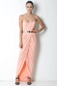 high slit maxi dress blush u2013 colors of aurora