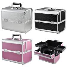 Makeup Box lockable makeup box trendy monaco black leather jewelry box