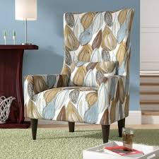 contemporary wingback chair modern contemporary wingback accent chairs you ll love wayfair