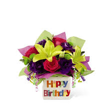 birthday boquet ftd happy birthday bouquet in daytona fl zahn s flowers