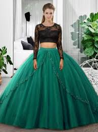 green quinceanera dresses sleeves backless floor length lace and ruching 15 quinceanera