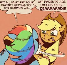 Mlp Rainbow Dash Meme - my parents are implied to be dead by perrydotto on deviantart