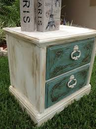 Shabby Chic Furniture Paint Colors by 38 Best Night Stands Images On Pinterest Painted Furniture