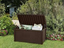 Outdoor Garden Bench Keter Borneo Outdoor Plastic Storage Box Garden Furniture 129 5 X