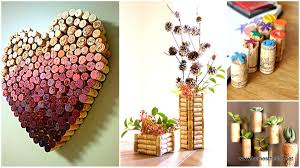 diy recycled home decor 30 insanely creative diy cork recycling projects you should try