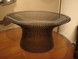 vintage bronze coffee table by warren platner for knoll for sale