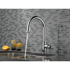 touch2o kitchen faucet delta 9159t ar dst trinsic 1 lever handle pull kitchen faucet