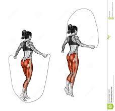corde a sauter cuir la corde à sauter pour muscler les mollets mais aussi les ischios