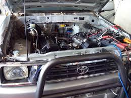 lexus v8 oil cooler hilux 4x2 lexus 1uz v8 conversion with spitronics venus ecu