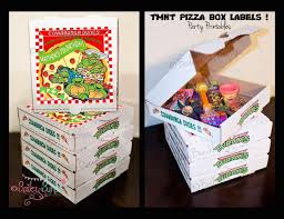 personalized pizza boxes 173 best s 2nd bday images on turtle party