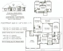 Media Room Plans - 4 bedroom 2 story 2301 2900 square feet