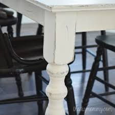 Diy Shabby Chic Kitchen by A Shabby Chic Farmhouse Table With Diy Chalk Paint The Diy Mommy