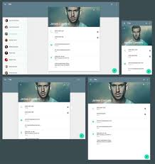 15 free material design website templates xdesigns