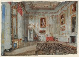 the white and gold room with van dyck portraits u0027 joseph mallord