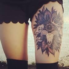 skull thigh