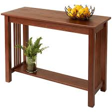 accent sofa table solid wood sofa table accent tables manchesterwood com