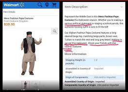 Muslim Halloween Costume Walmart Appeases Muslim Outcry U0027racist U0027 Halloween