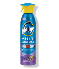 Pledge Wood Floor Cleaner Pledge Multi Surface Spray Lavender U0026 Vanilla 9 7oz Walmart Com