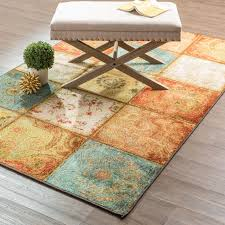 mohawk home free flow artifact panel area rug 7 u00276 x 10 u0027 multi