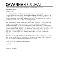 cover letter sample 3 human resources manager cover letter