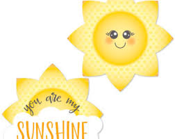 You Are My Sunshine Decorations You Are My Sunshine Etsy