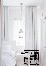 And White Curtains Black And White Drapes Design Ideas