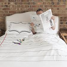 Who Invented The Duvet Amazon Com Doodle Cotton Duvet Cover To Personalise Double