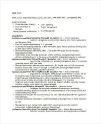 Resume Livecareer Com Free Marketing Resume Templates 26 Free Word Pdf Documents