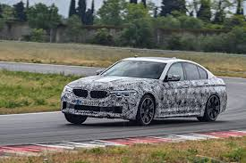 bmw m5 prototype 2018 first drive with video cars co za