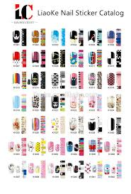 supply 3d design french fashion nail art stickers 2017 lady