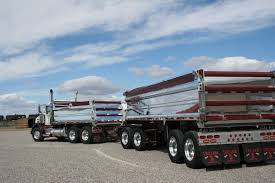 gravel truck dump boxes custom shine polish aluminum