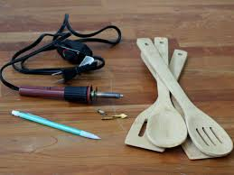 kitchen utensils design diy wood burned kitchen utensils hgtv