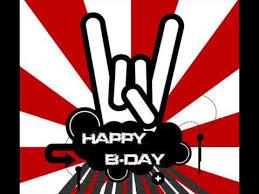 Imagenes Feliz Cumpleaños Rockero | cancion de feliz cumpleaños rock youtube