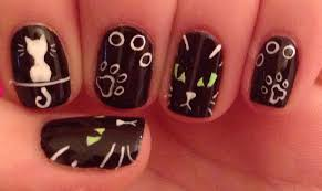 nail art nailed it nz ginger tabby catl art tutorial jpg