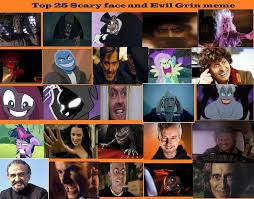 Meme Scary Face - top 25 scary face and evil grins meme by confessorrocksha on