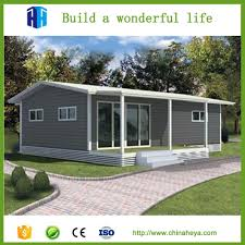 40 Square by 40 Square Meters House Small Log Furnished Portable Cabin In Kenya