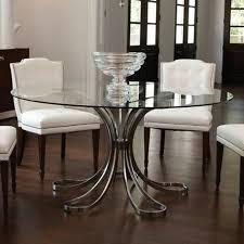 table de cuisine ronde en verre table cuisine ronde plateau verre cuisine idées de décoration de