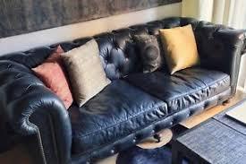 Leather Sofa Ebay Top Grain Leather Sofa Ebay