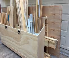 scrap wood rolling organizer cart the project lady