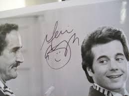 desi arnaz jr carol burnett mia farrow photos signed autograph a
